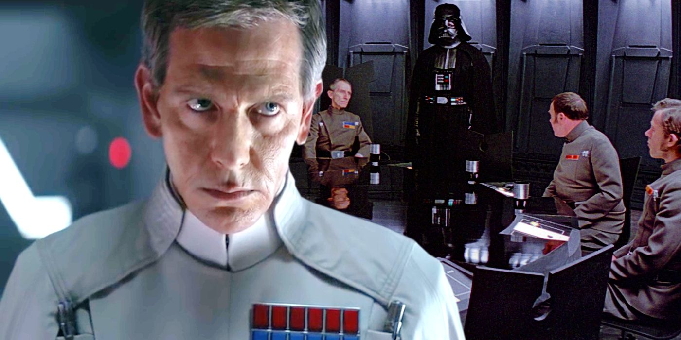 How Star Wars Hinted At Krennic's Rogue One Death In A New Hope