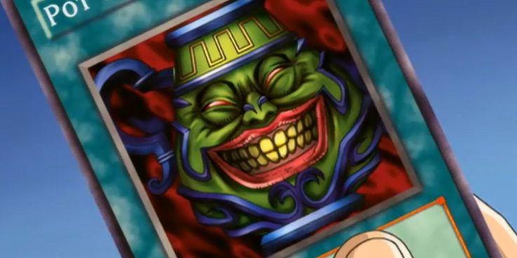 Yu-gi-oh! Pot of Greed in the Yu-Gi-Oh!