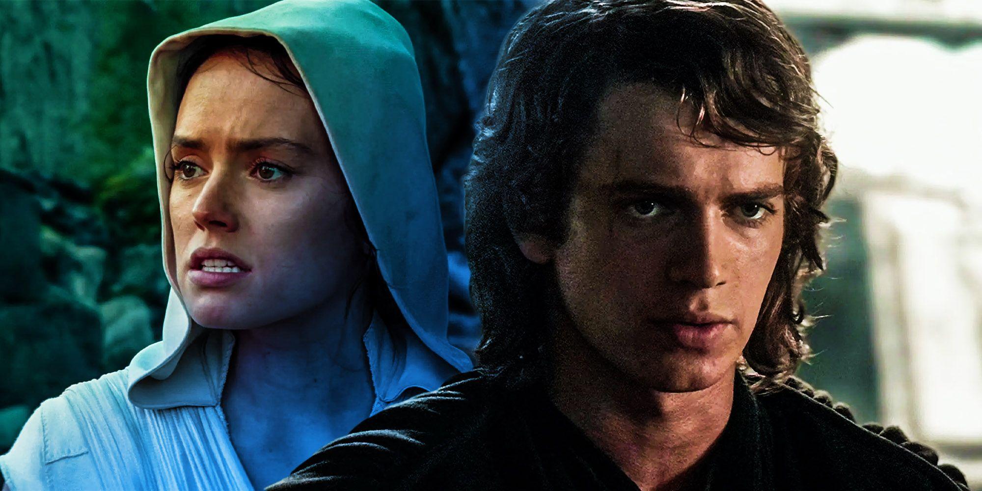 Star Wars: Rey is More Like Anakin Than Rise of Skywalker Revealed