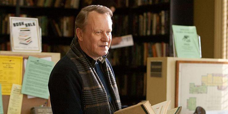 Erik Selvig played by Stellan Skarsgård