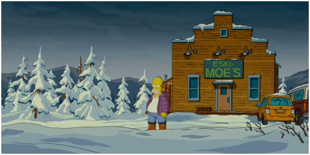 Os Simpsons: As 10 melhores reinvenções da taberna de Moe 8