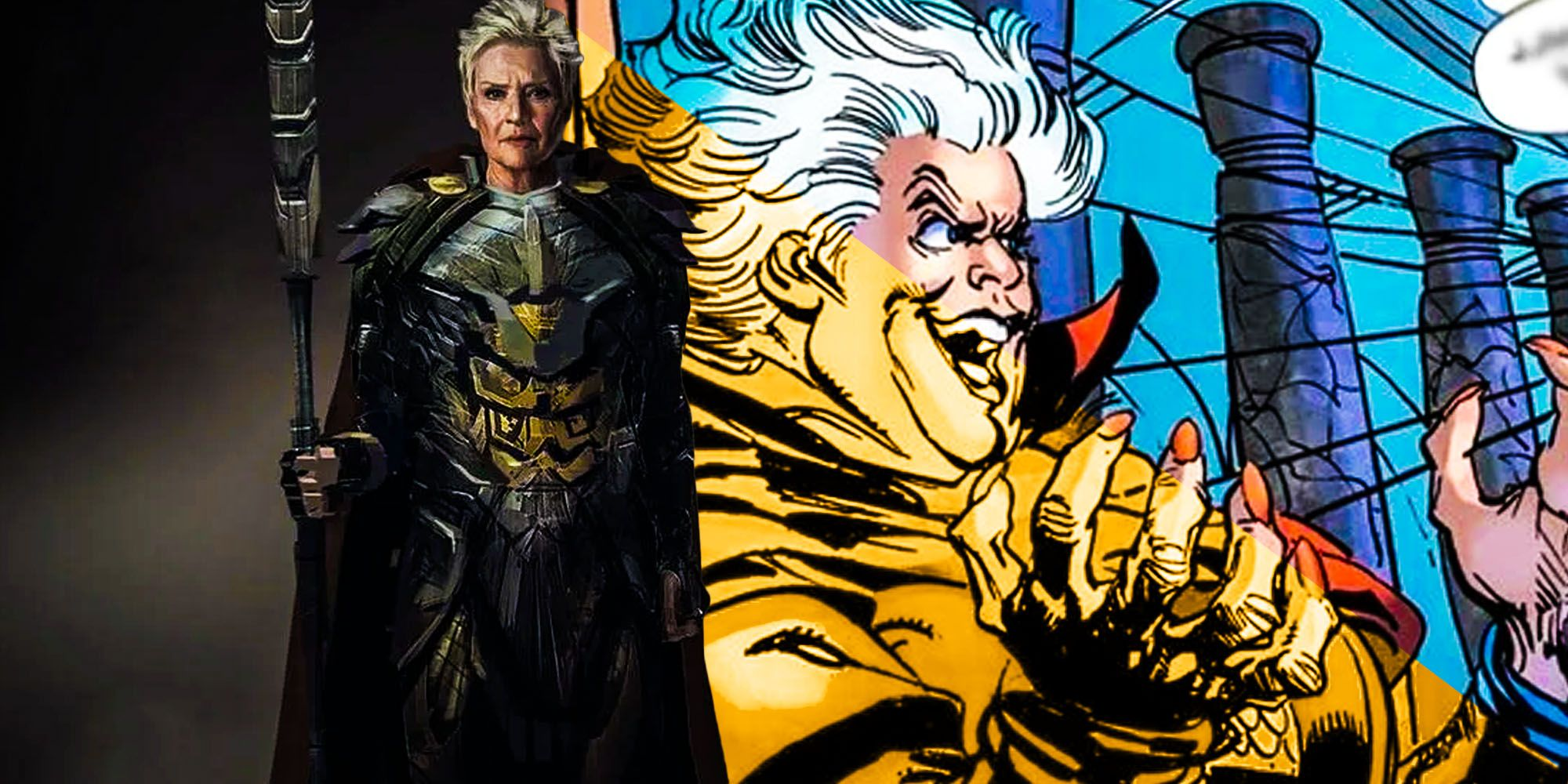 Why The Snyder Cut's Granny Goodness Looks So Different To The Comics