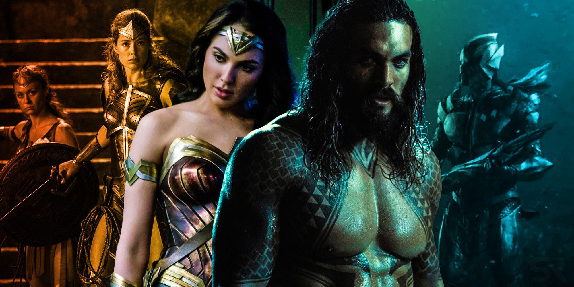 Justice League's Ancient Amazon vs Atlantean War Explained
