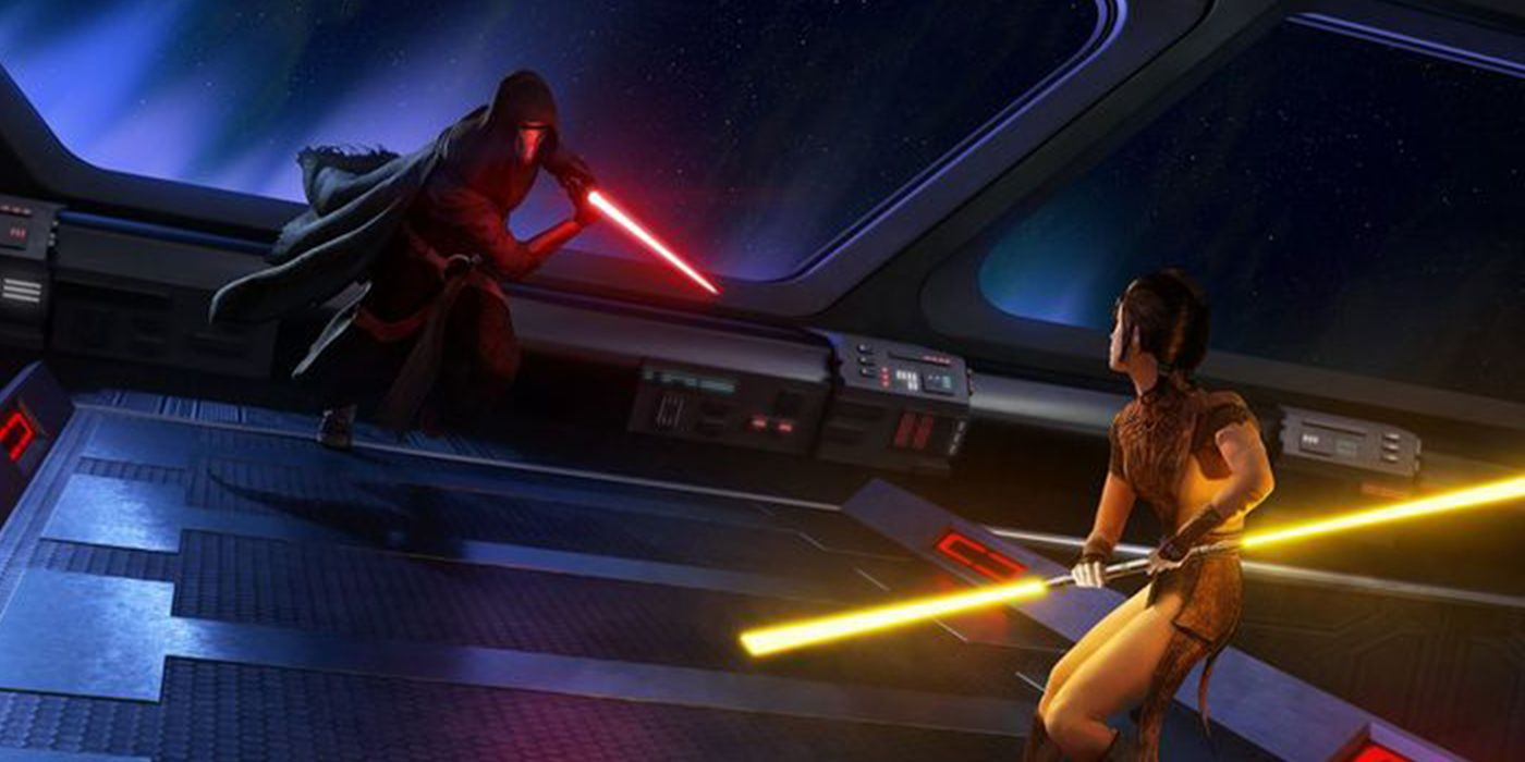 The Knights of the Old Republic rewrite rumors aided from within