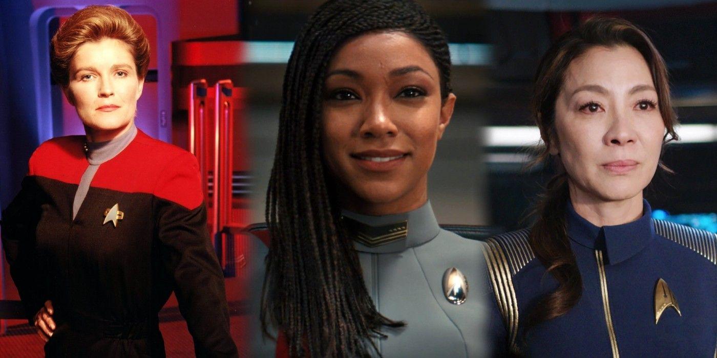 Star Trek: Every Female Captain (So Far)