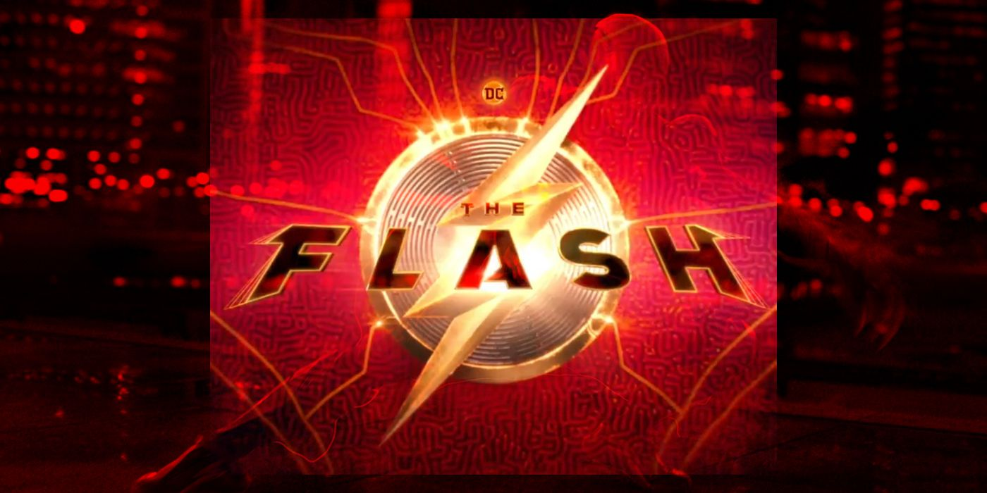 The Flash Movie Logo Revealed In Filming Announcement Video