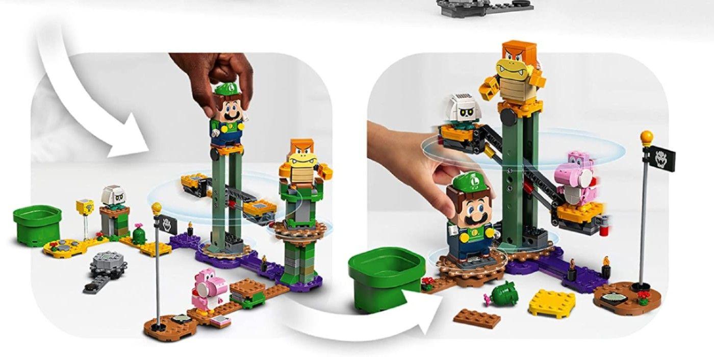 LEGO Super Mario Vaza e revela aventuras com o conjunto de Luigi 1