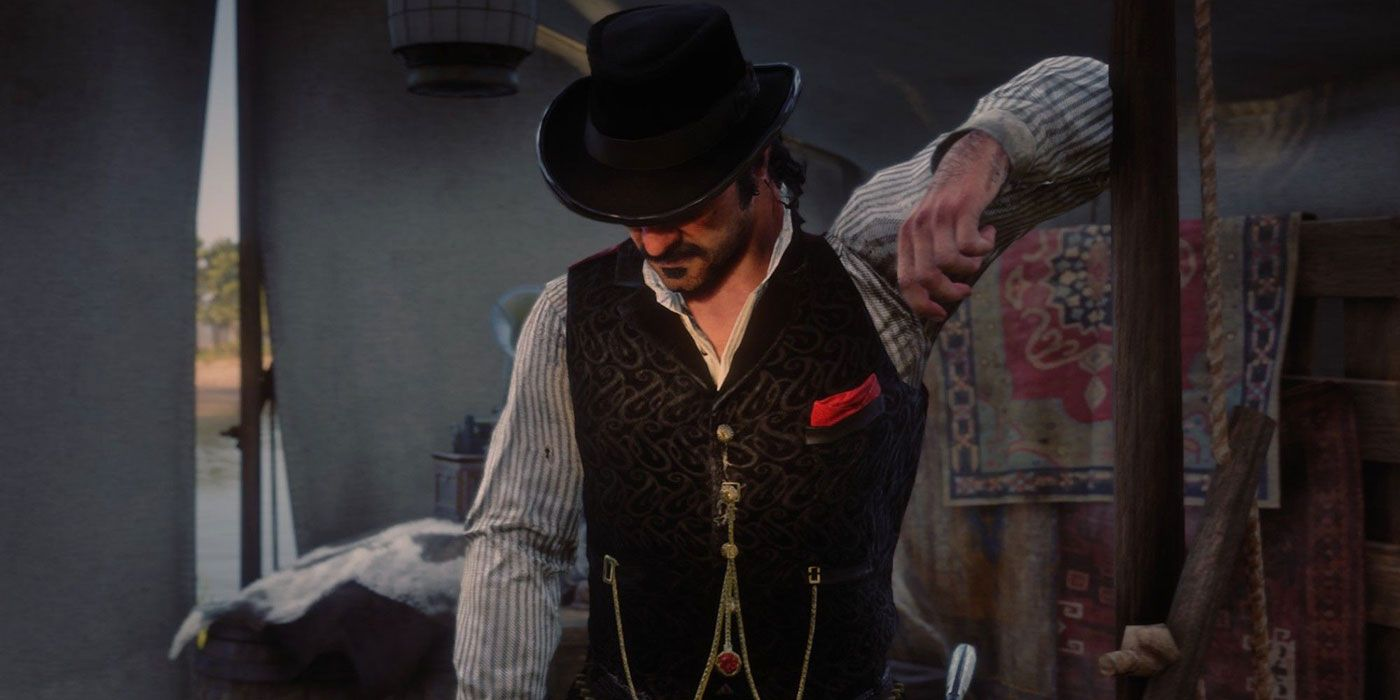 RDR2 Why Dutch Has The Nicest Tent In Camp   Screen Rant