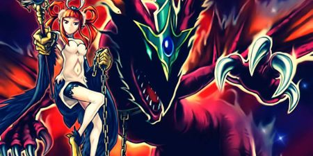 Yugioh Harpie's Pet Phantasmal Dragon card art