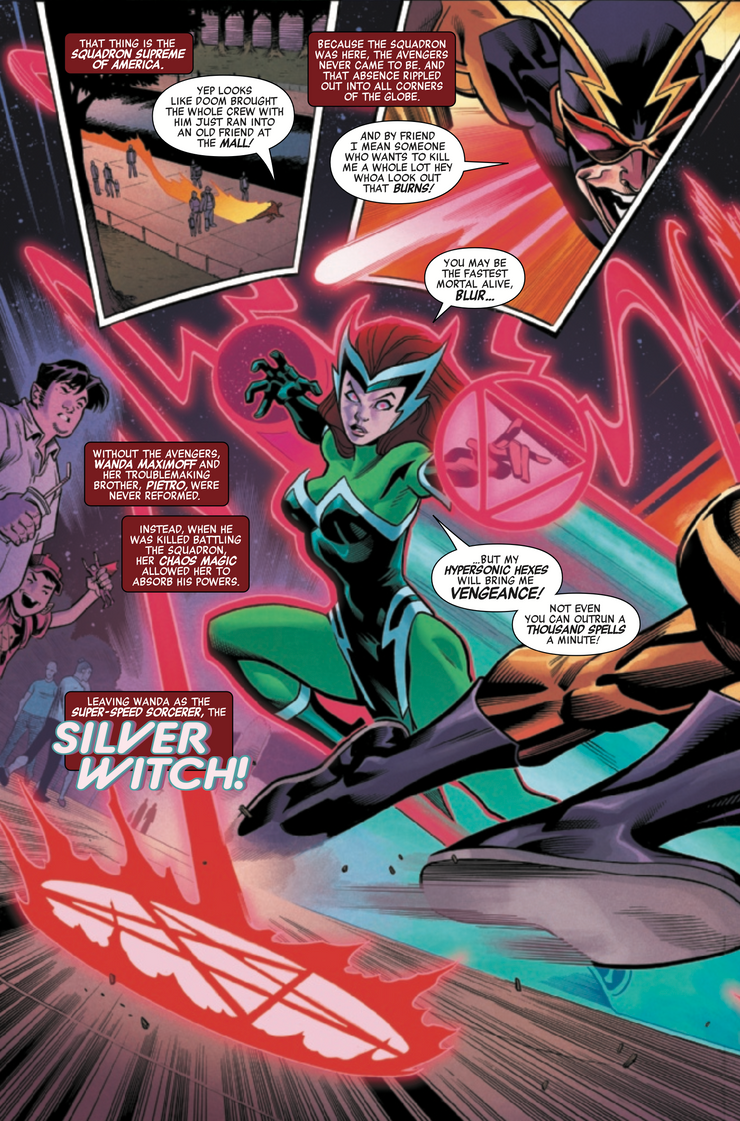 Scarlet Witch's New Costume References Her Bizarre First Appearance