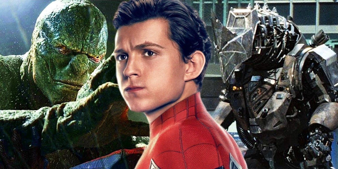 Spider-Man: No Way Home Rumored To Include Lizard & Rhino From Amazing Spider-Man Movies