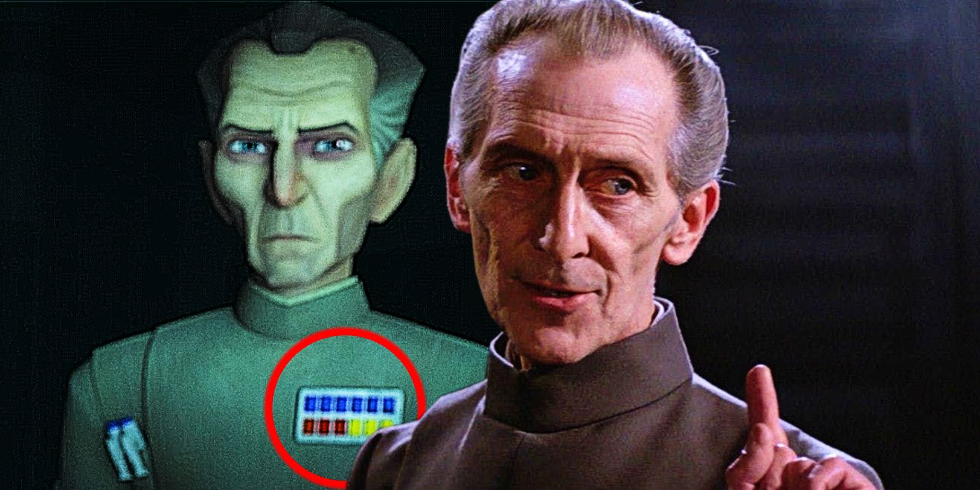 Did Star Wars Just Create A Tarkin Plot Hole? Imperial Insignia Explained