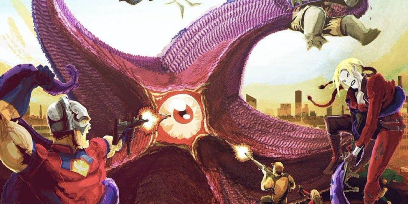 🔥 James Gunn comparte el arte de Suicide Squad 2 que muestra el equipo de  lucha contra Starro