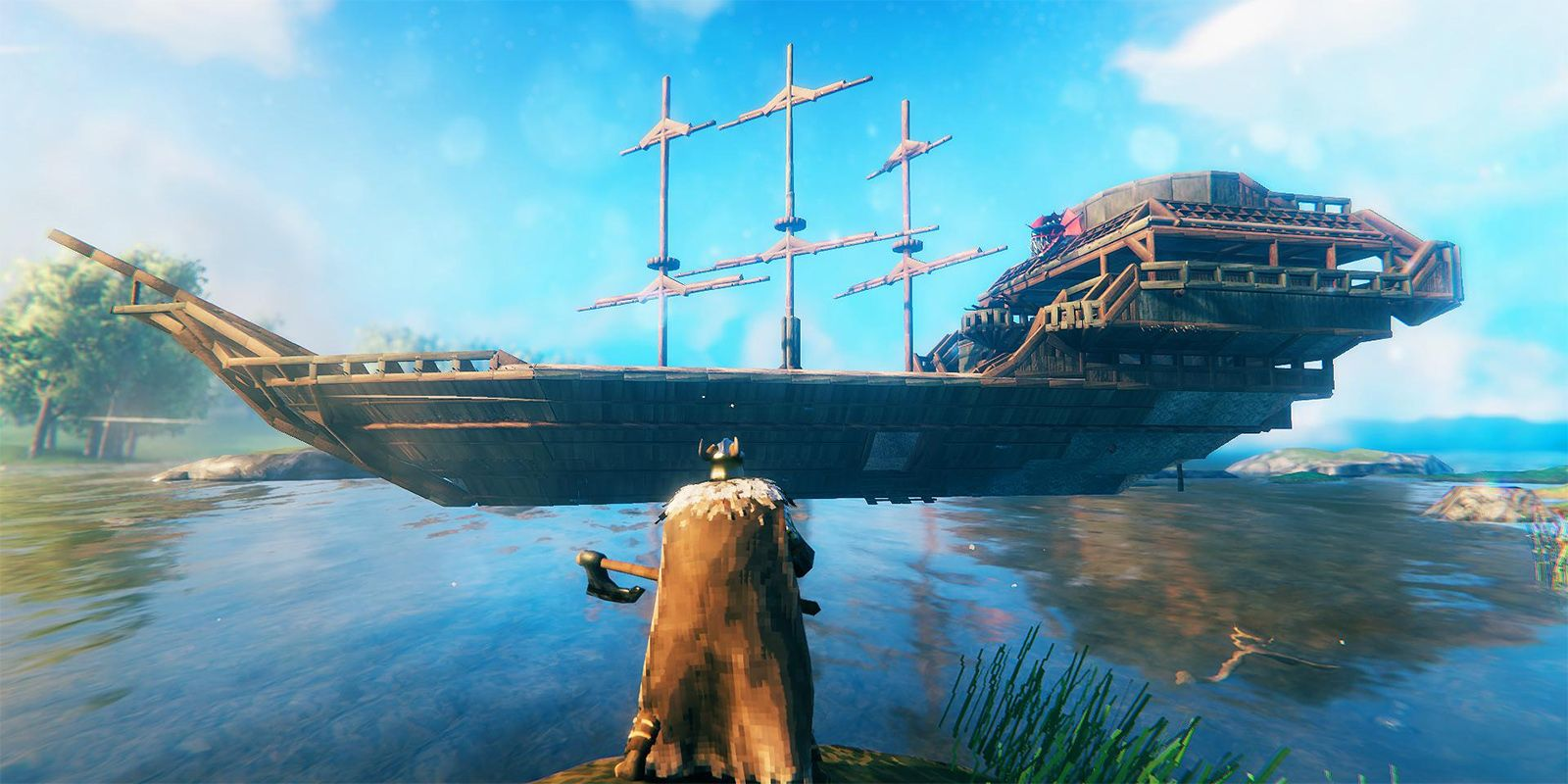 Valheim Mod Lets You Build Boats In Whatever Shape, Size You Want