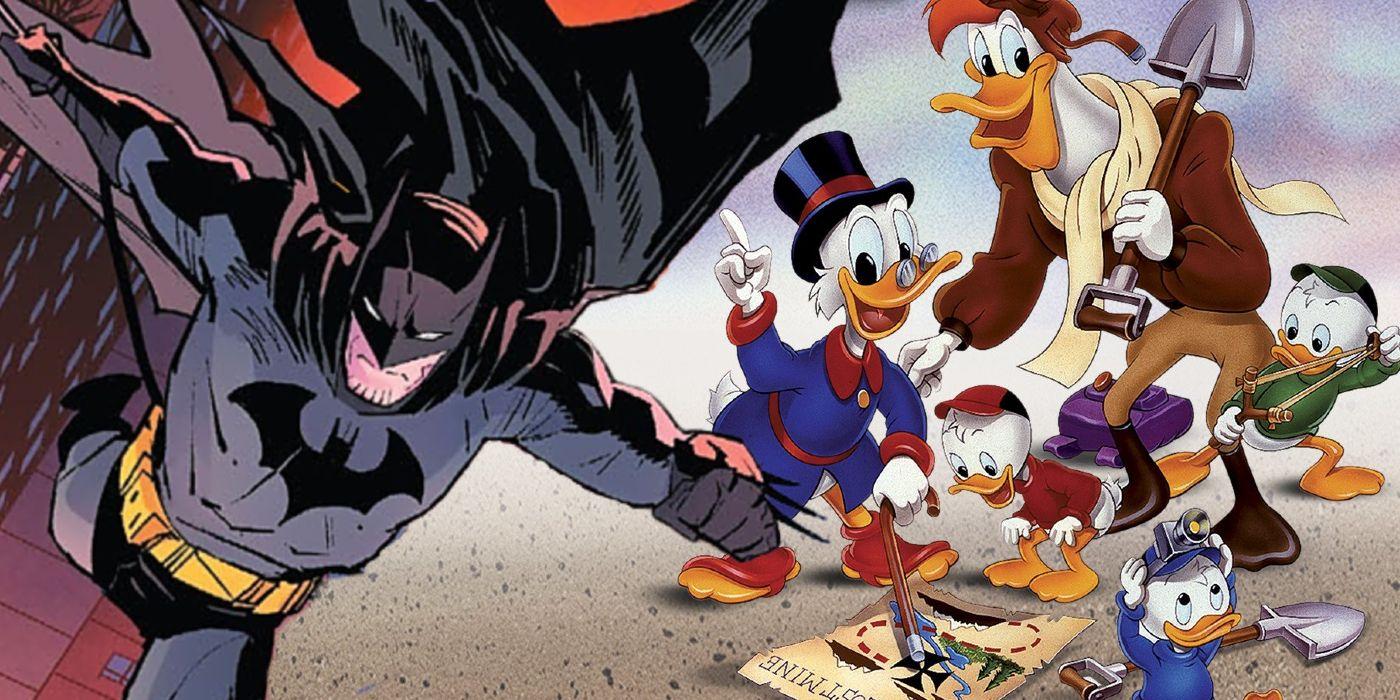Batman Has A Surprising Use For DuckTales | Screen Rant