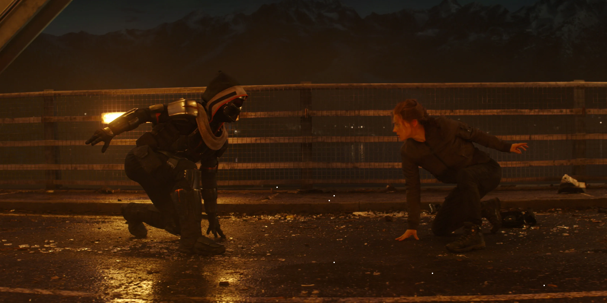 Black Widow Faces Off With Taskmaster In New Marvel Movie Image