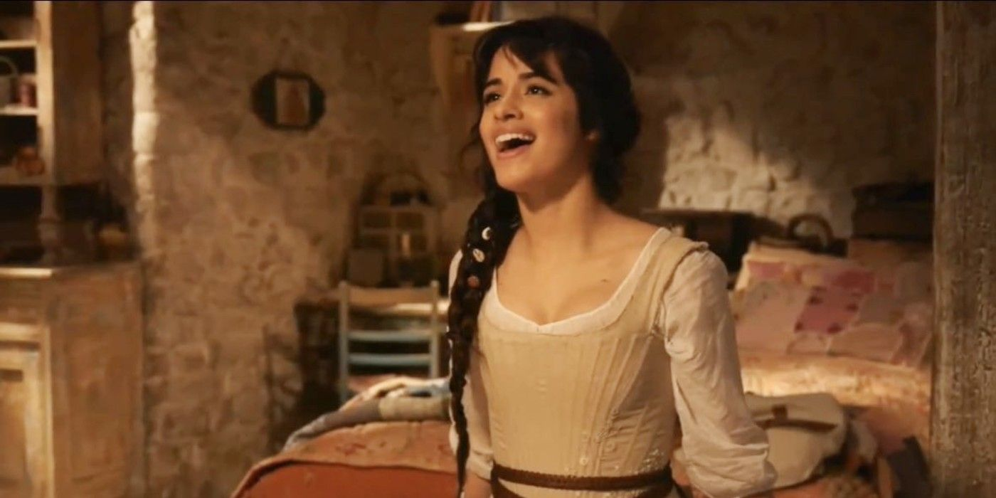 Cinderella 2021 Images Reveal First Look At Camila Cabello & The Prince