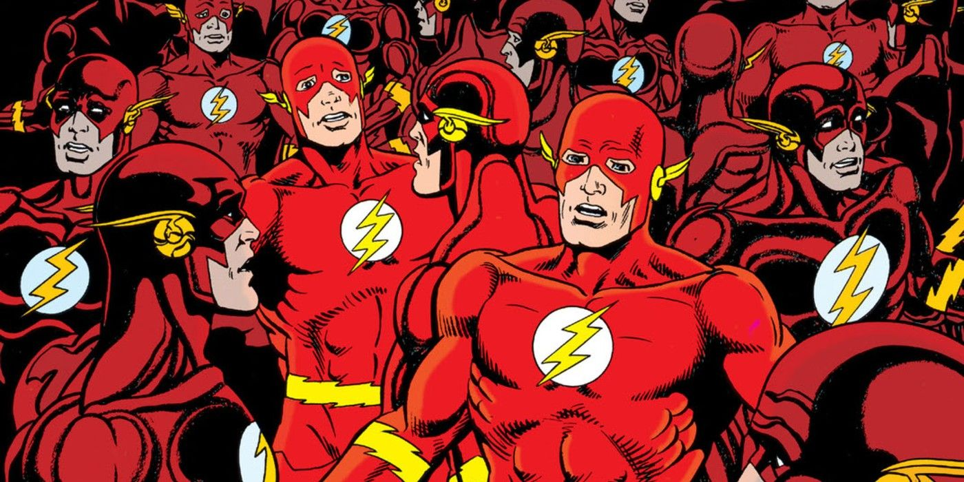 The Flash: Wally West is Stealing Barry Allen's New Job