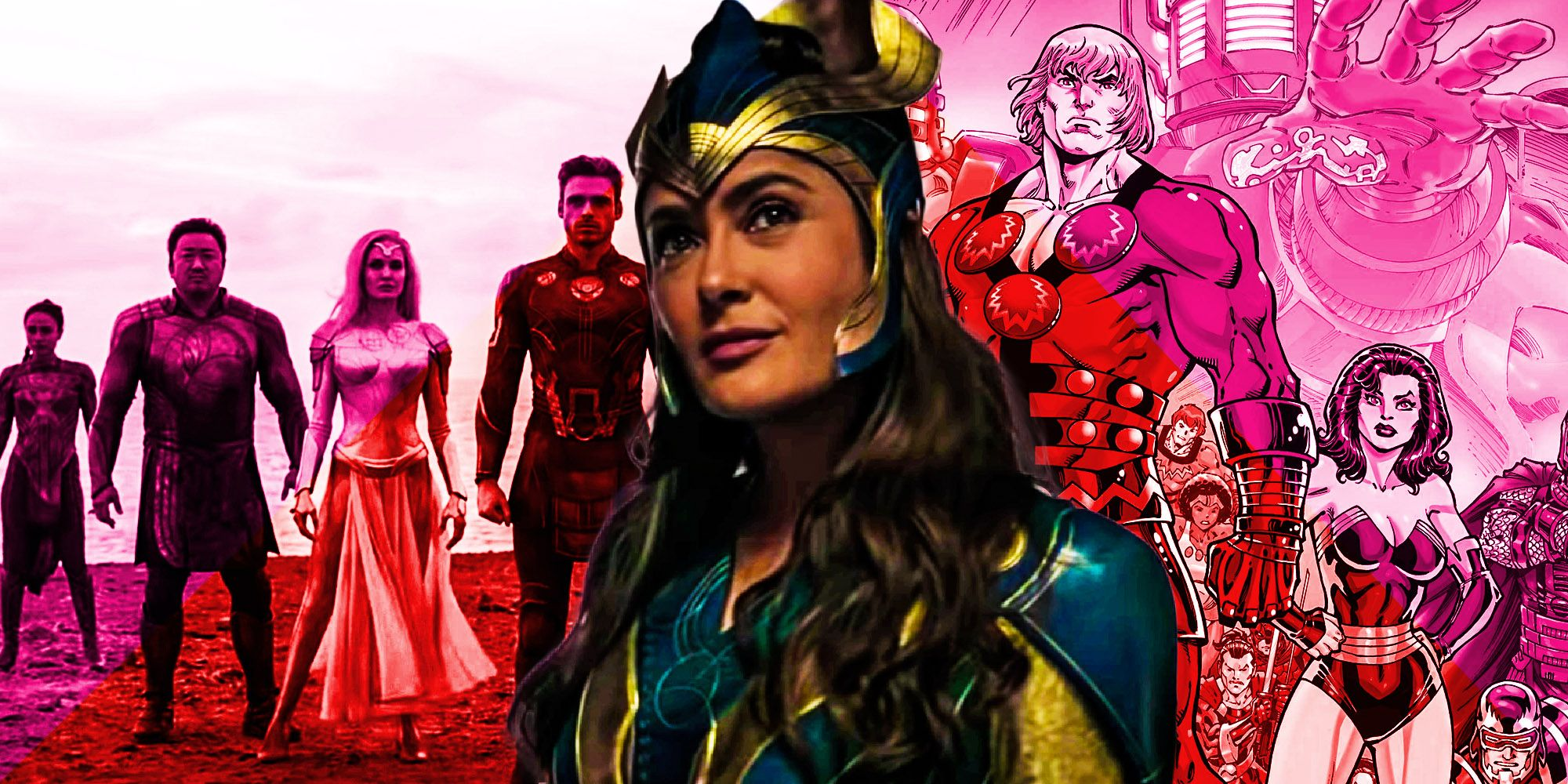 Eternals Origins Explained How Mcu Heroes Backstory Compares To Comics