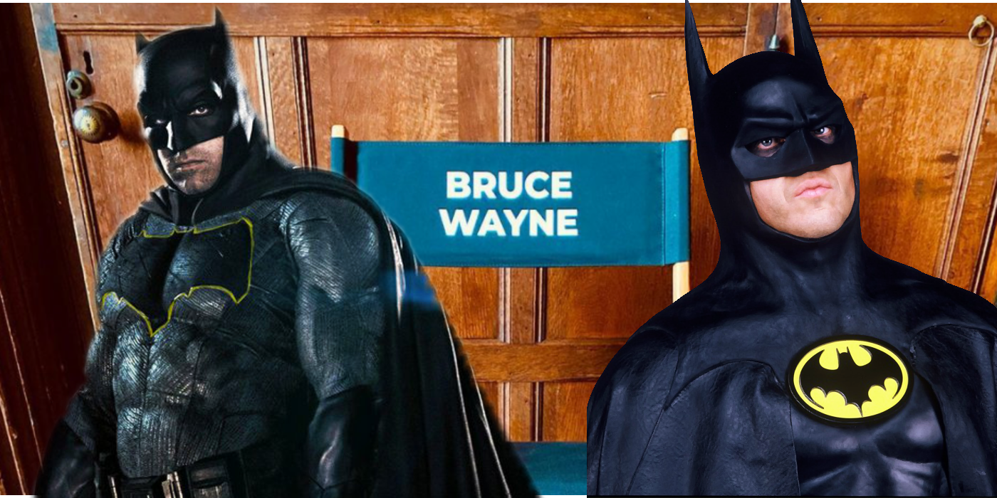 The Flash Set Photo Hypes The Return Of Batman   Screen Rant