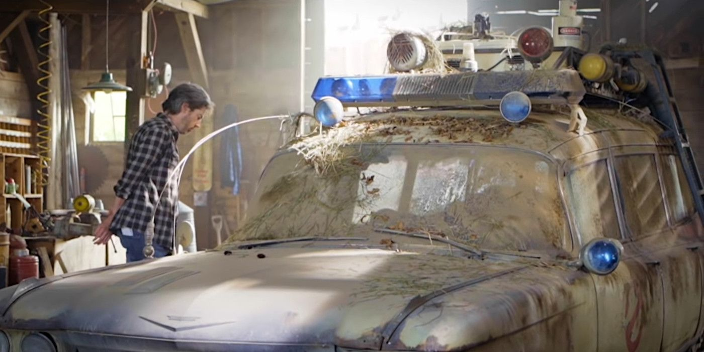 Ghostbusters: Afterlife Video Reveals New Look At Old Ecto-1