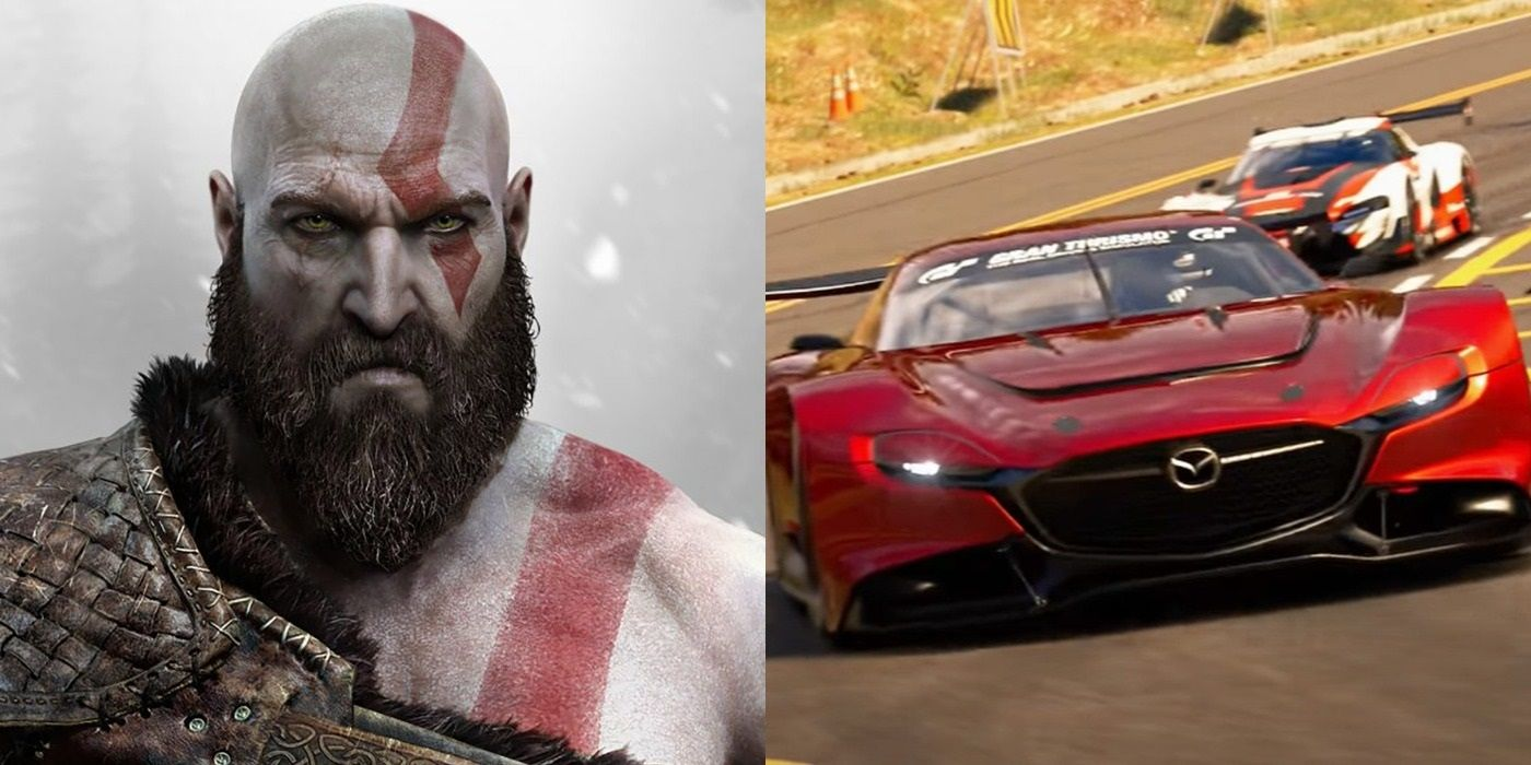 God Of War 2, Gran Turismo 7 Are Coming to PS4 In Addition To PS5