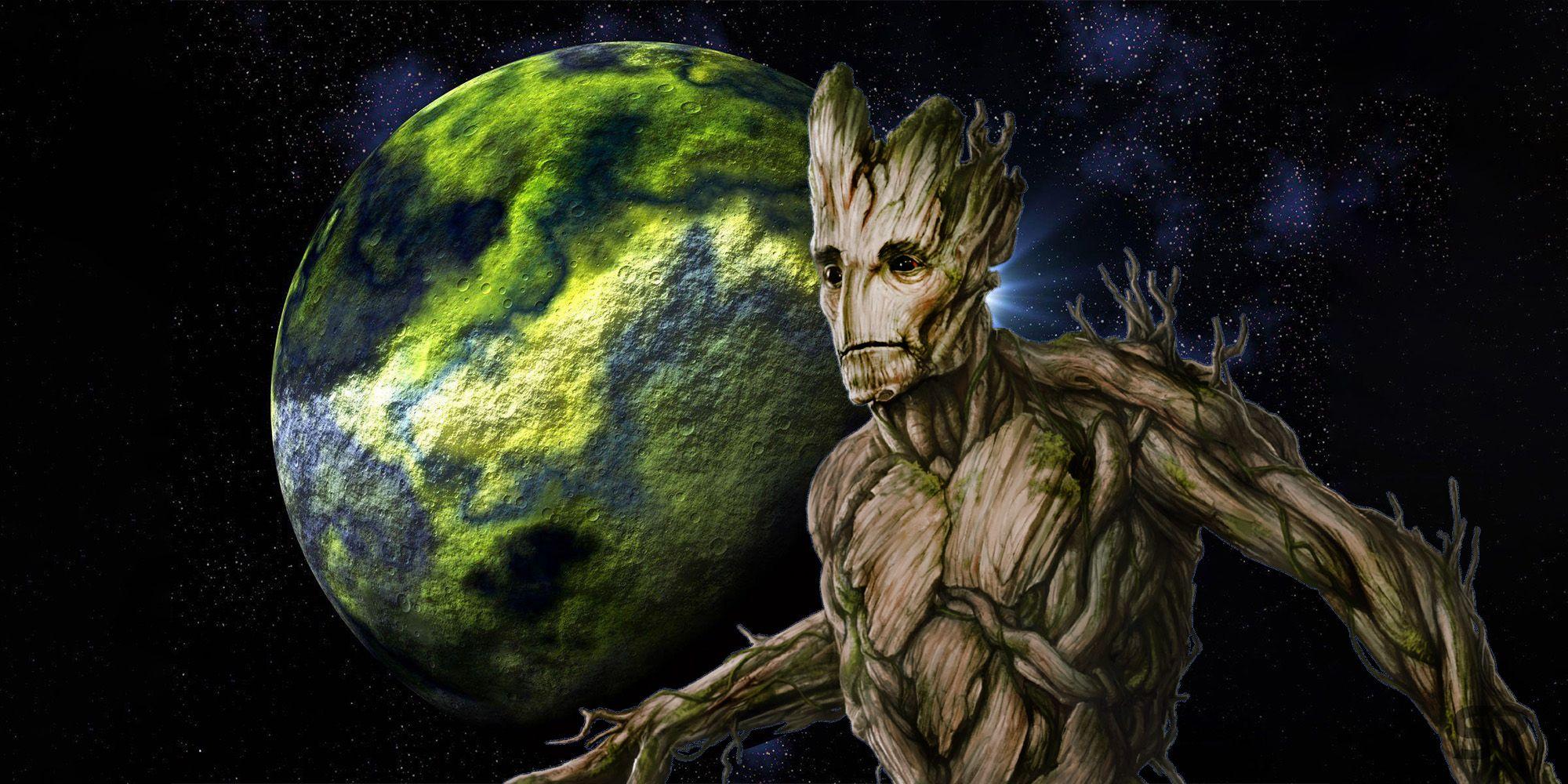 Groot Is Returning To His Homeworld Planet X In The MCU Teases Vin Diesel