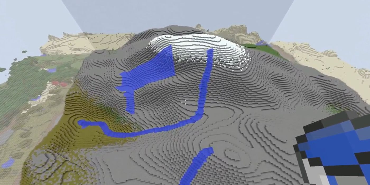 Minecraft Landscape Generator Produces Realistic Rivers