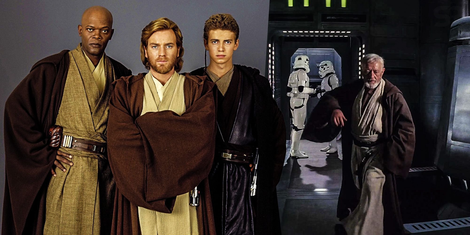 Star Wars Jedi make the perfect spies Obi wan kenobi a new hope