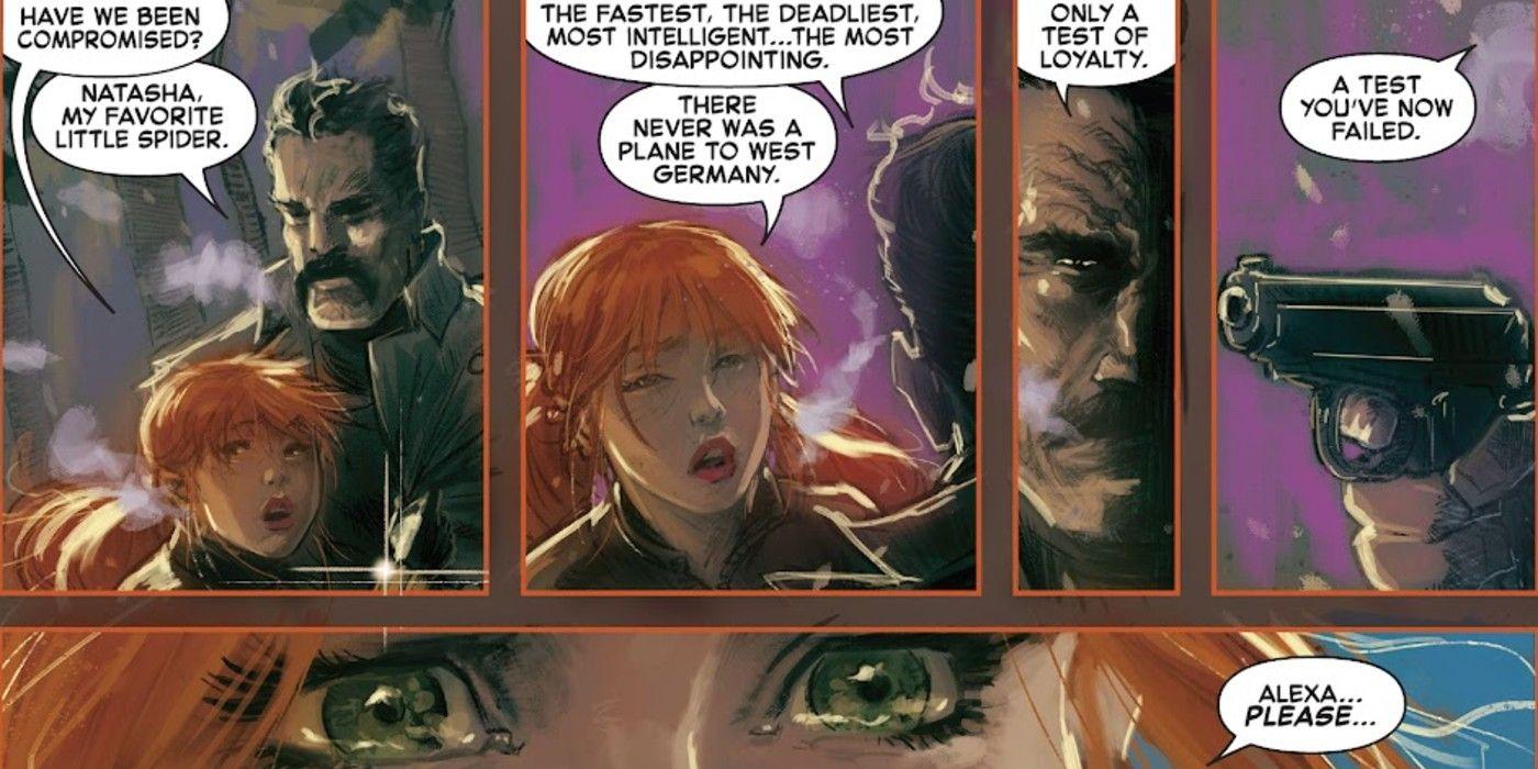 Marvel revela a primeira tragédia do Quarto Vermelho da Viúva Negra 1