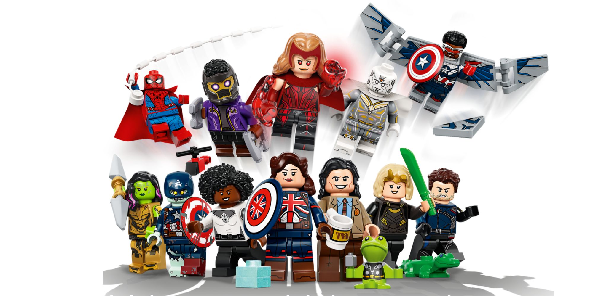 LEGO Reveals MCU Minifigure Collectibles With Throg & Alligator Loki