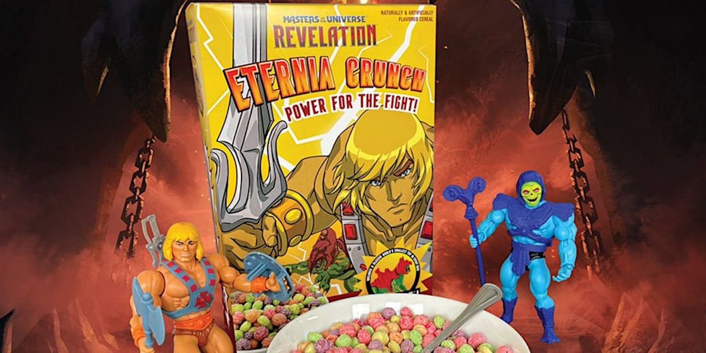 Masters of the Universe: Revelation Cereal Has Battle Cat Toys Inside