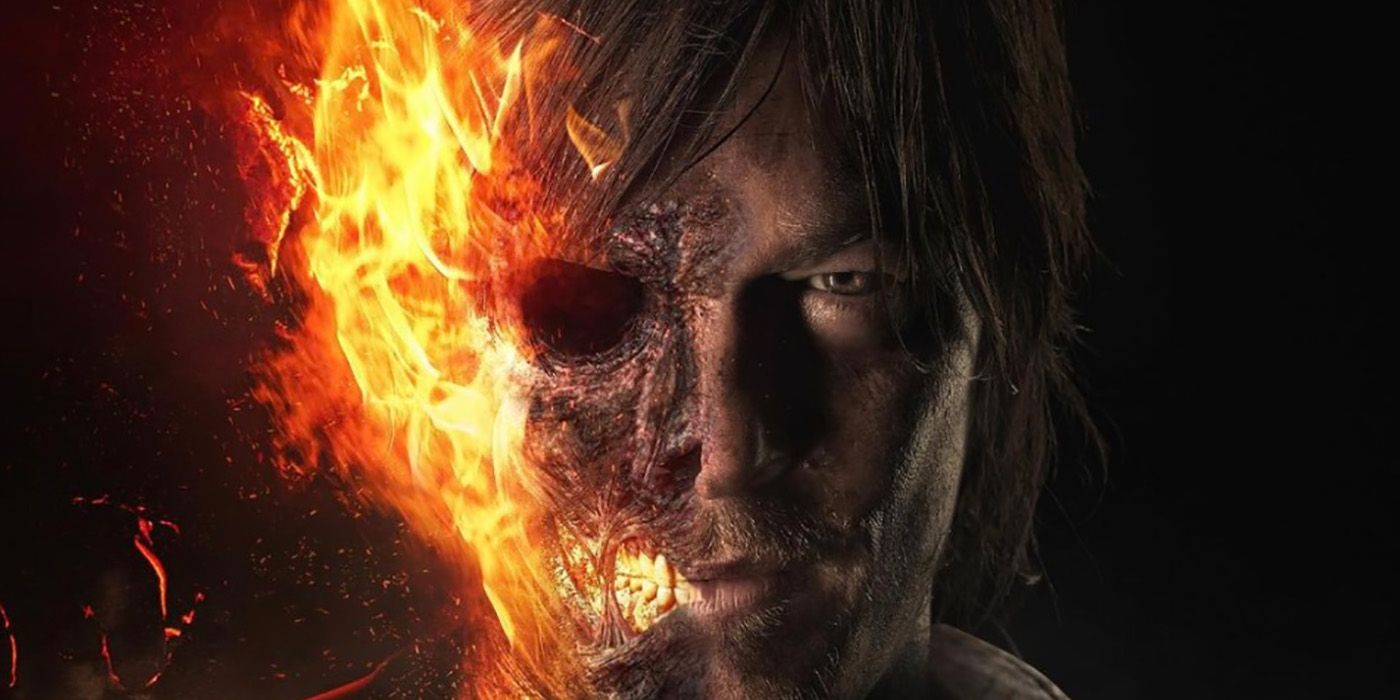 What Norman Reedus Could Look Like As MCU's Ghost Rider