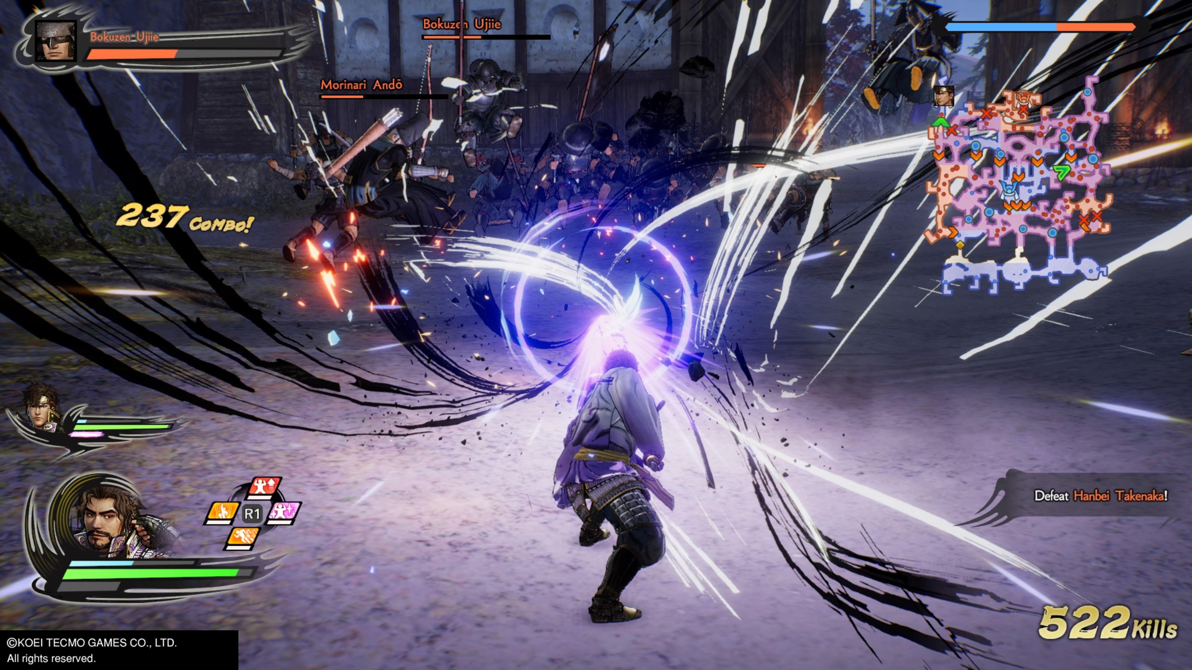 Samurai Warriors 5 Review Gameplay