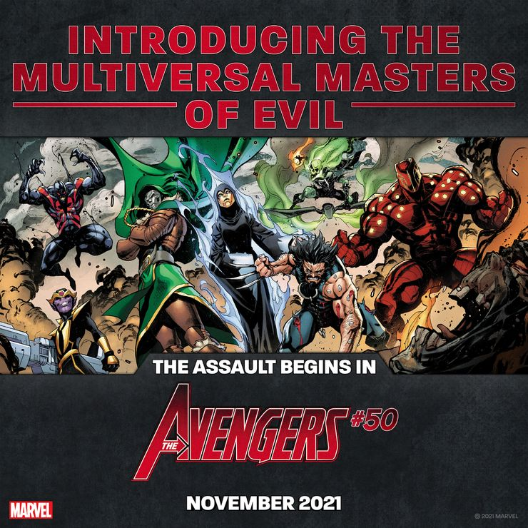 The Multiversal Masters of Evil