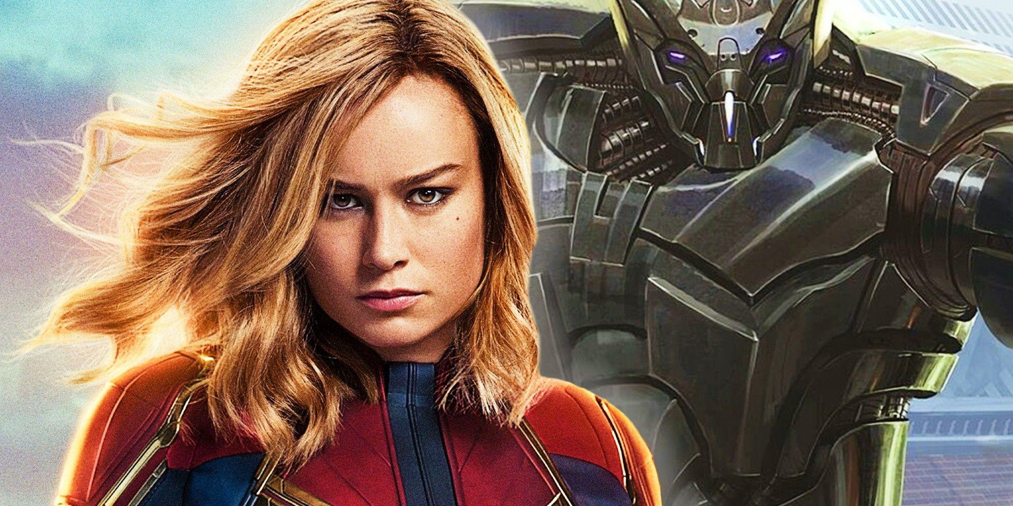 Captain Marvel 20 Reusing Scrapped Villain Concept Can Improve Her ...