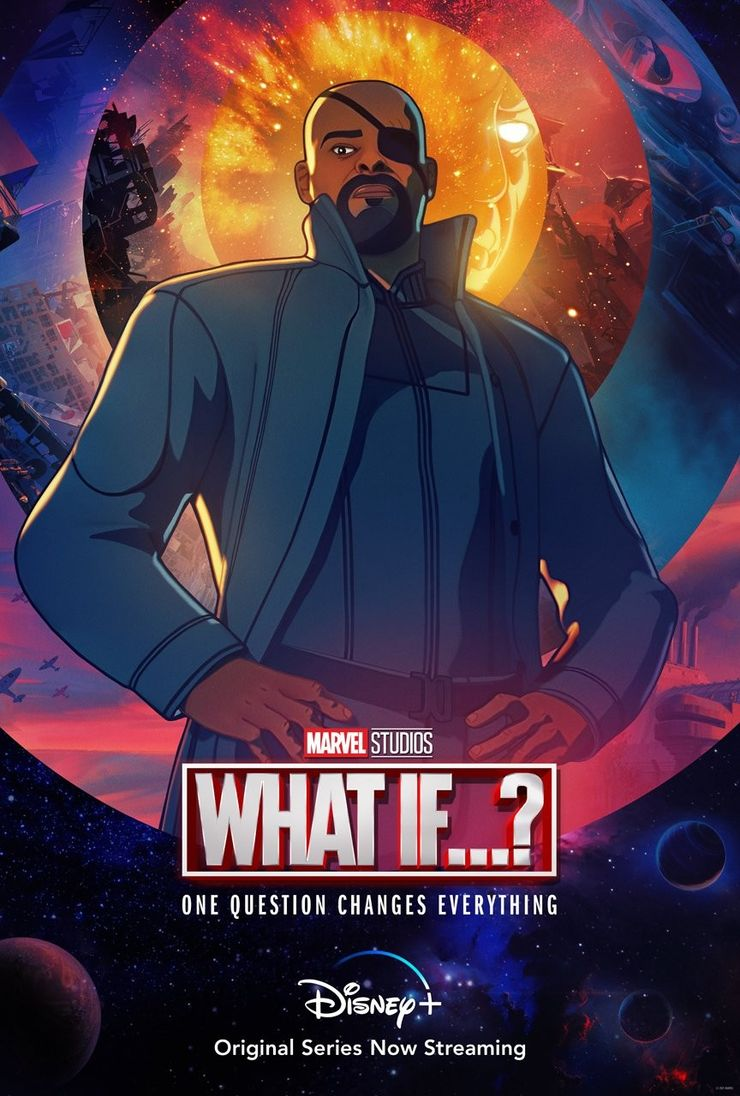 Marvel's What If Episode 3 Posters Tease Nick Fury & Black Widow Story