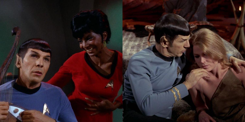 Star Trek Spock's 20 Best Romances, Ranked   ScreenRant