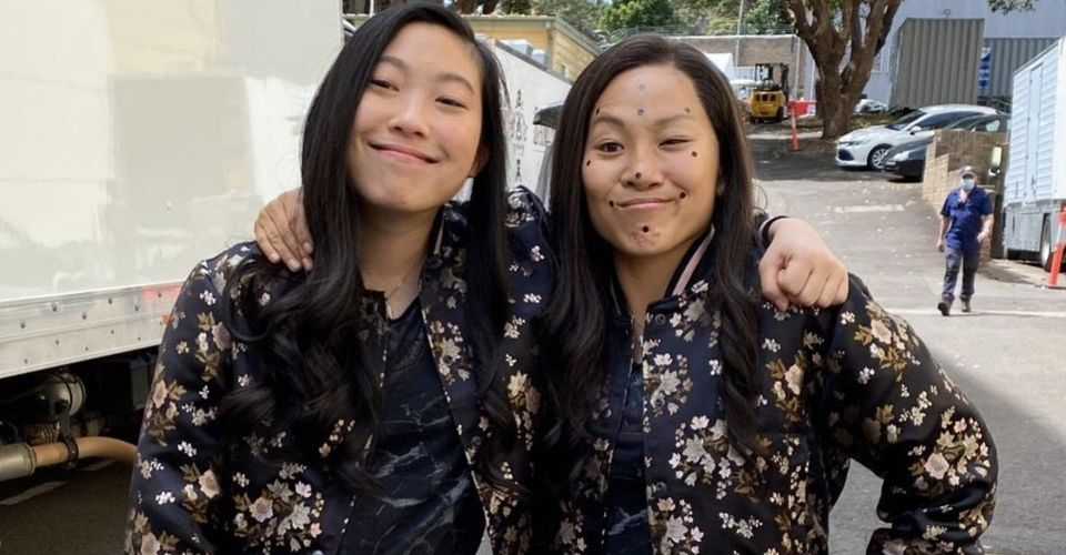 Honestly, Awkwafina's double-take picture is the most adorable of all and had to be included in 17 times most adorable moments of actors.