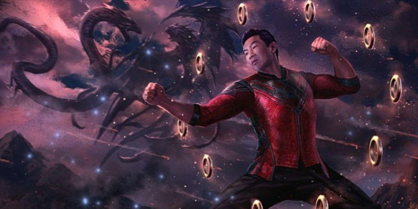Shang-Chi Final Battle Concept Art Shows Dweller In Darkness