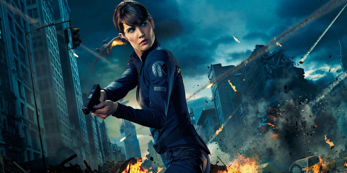 Image result for maria hill mcu