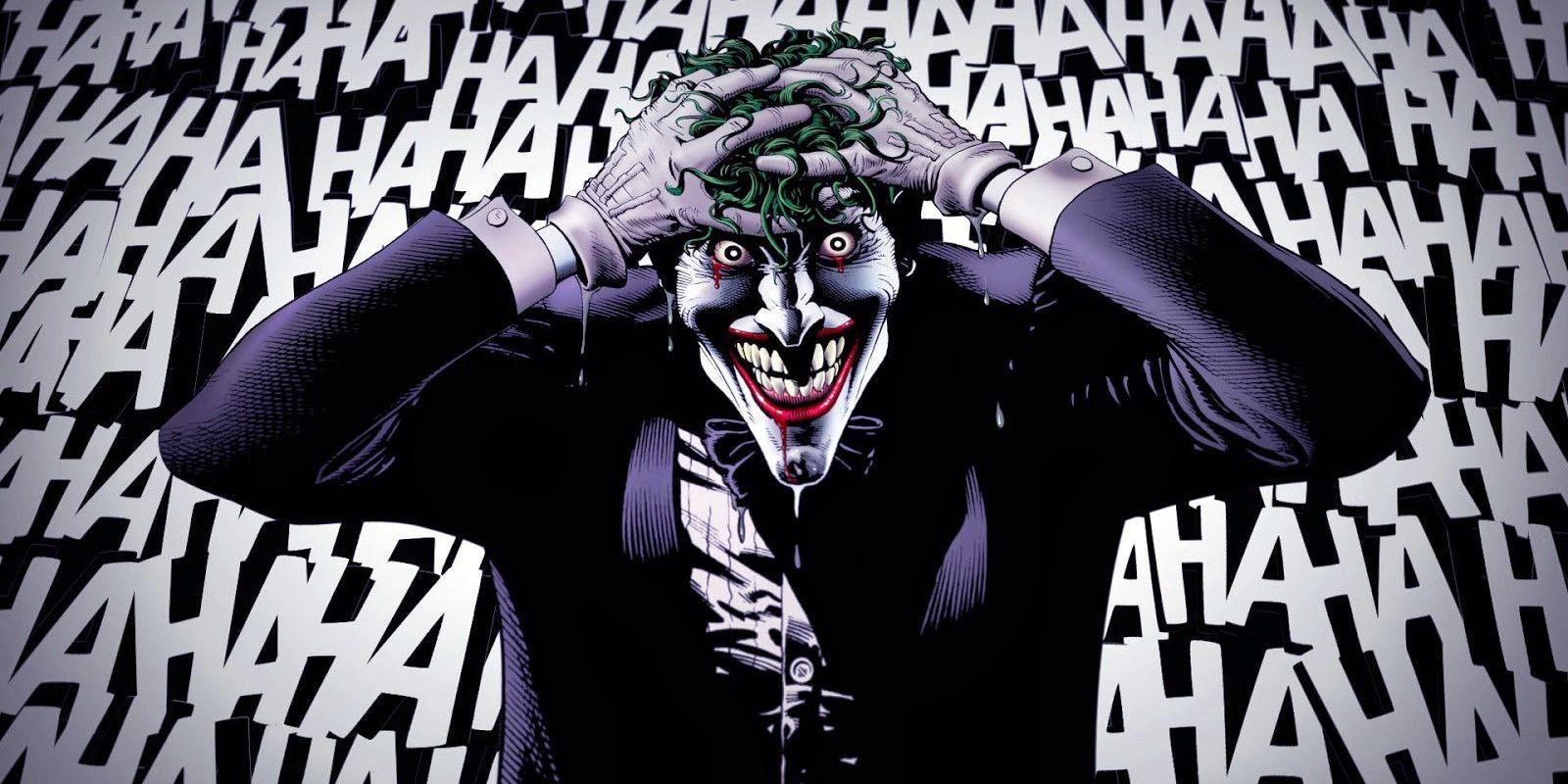 Image result for joker laughter