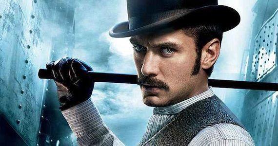 Jude Law Says 'Sherlock Holmes 3' Is Slowly Moving Forward