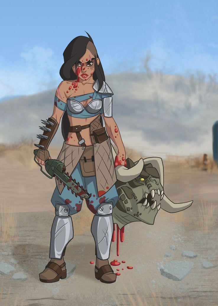 SR Pick: If Disney Princesses Were Fallout 4 Characters