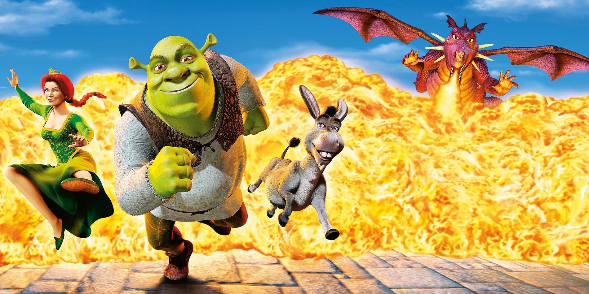 Shrek release date in Sydney