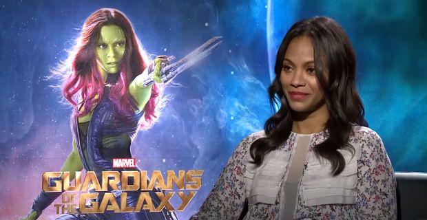 Zoe Saldana stars in Guardians of the Galaxy; says she