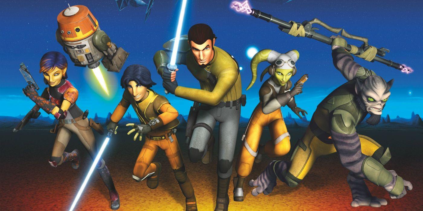 Star Wars Rebels Season 3 Clip Reveals Ezra's New Look ...